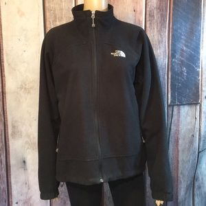 The North Face Black Lined Fleece Jacket Sz. L